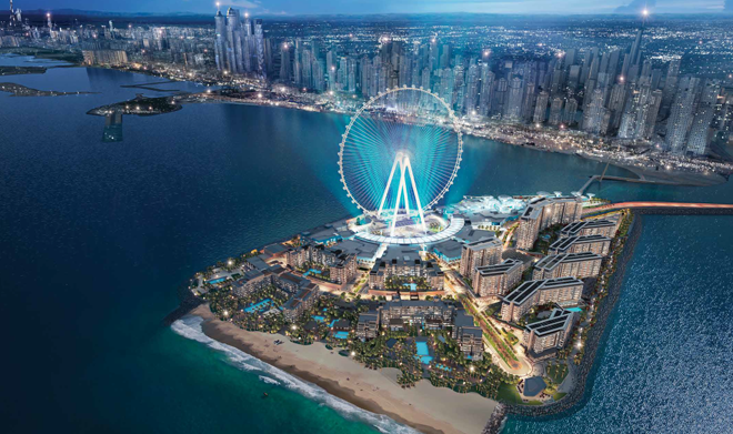 Bluewaters and Ain Dubai