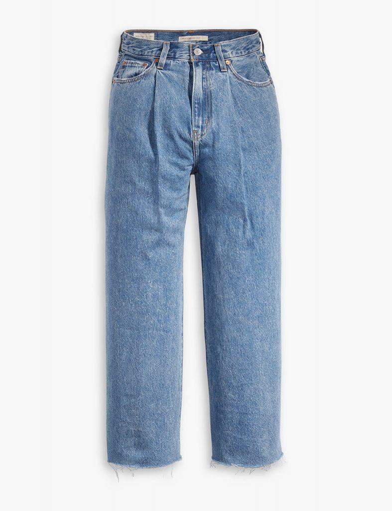 LEVI'S_72950-0000 — RIBCAGE PLEATED CROP NOW AND THEN