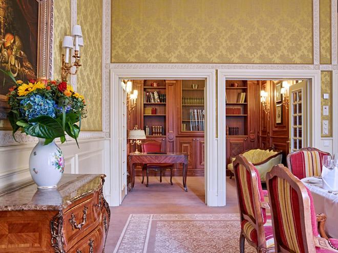 Präsidenten Suite Bibliothek