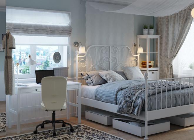 Спальня,полная любви