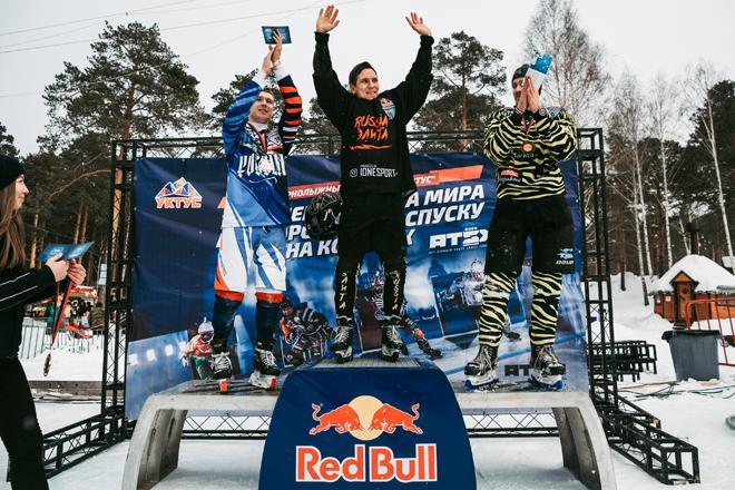 Dmitriy Murlychkin, Denis Novozhilov and Miika Miettinen