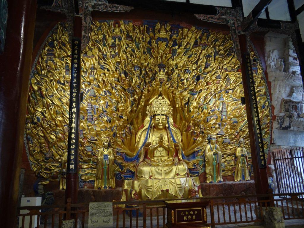 Буддийские пещерный комплексы (2)