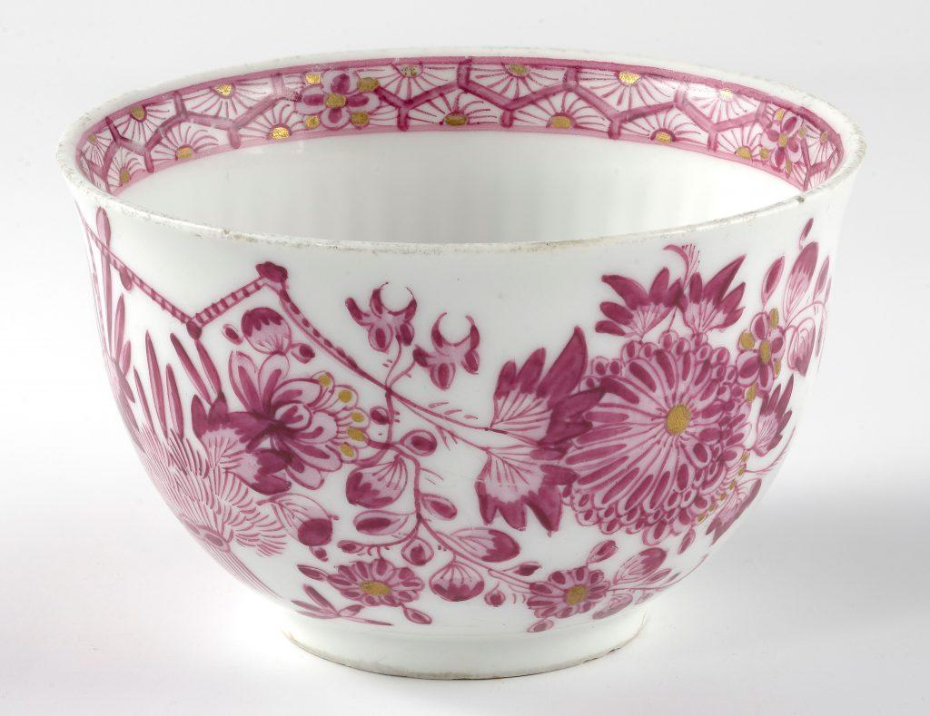Чашка. Мейсенская мануфактура 1760е ЕМИИ