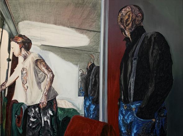 3 — Иван Плющ, Свет, 2020 (холст, акрил, 150х200 см)
