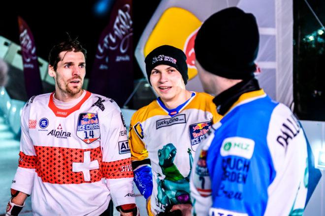 Luca Dallago (AUT), Marco Dallago (AUT) and Jim De Paoli (SUI)