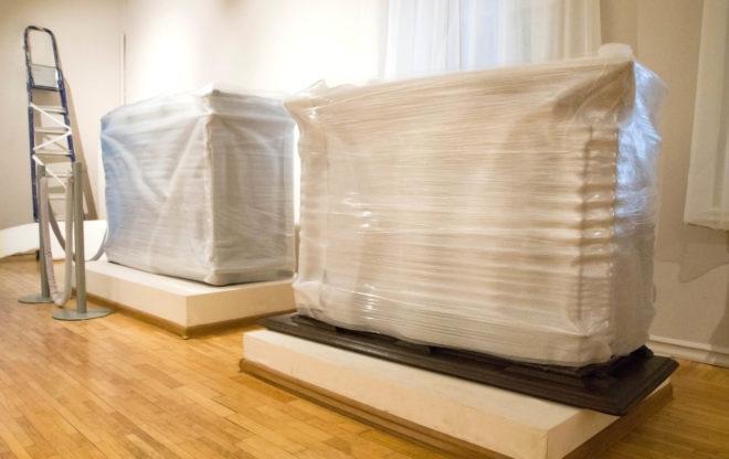 упаковка предметов мебели