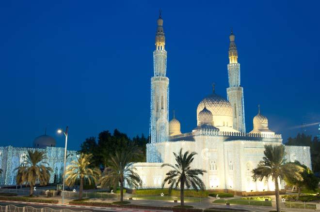 Ramadan in Dubai — Jumeirah Mosque