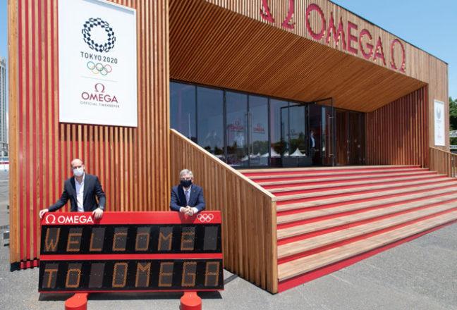 OMEGA_TOKYO 2020_Mr. Zobrist & Mr. Bach_01
